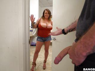 Порно рыжие большие сиськи